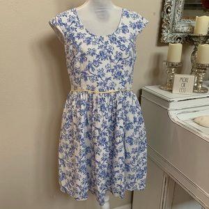 Matilda Jane bird Floral Dress Size 8